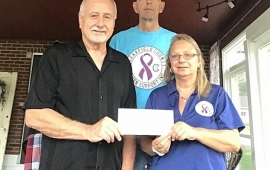 Local Mayor and Wife Donate to Charity
